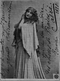 Mademoiselle Emma Calve