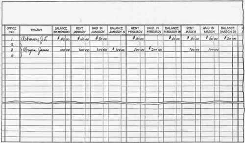 Section  Rent Ledger