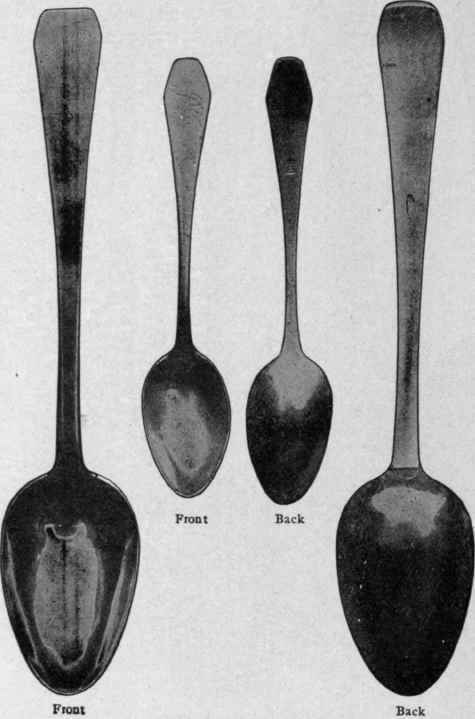 The story in a silver teaspoon part 2 for 1 tablespoon to teaspoon