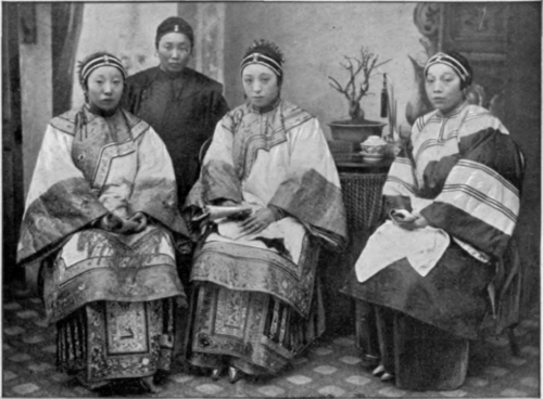Full Version: old Chinese women dress
