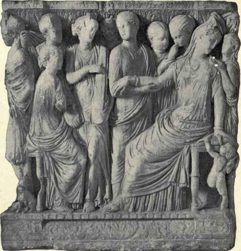 Ancient Sarcophagus, Found At Girgenti.