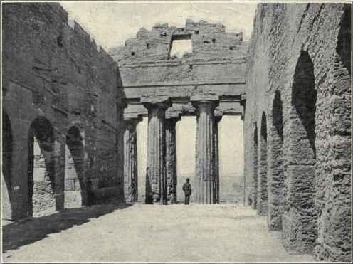 Interior Of The Temple Of Concordia.