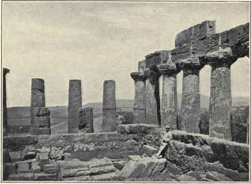 Interior Of The Temple Of Juno