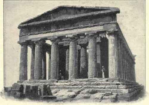 Temple Of Concordia, Girgenti.