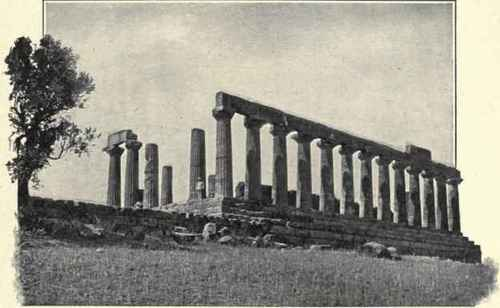 Temple Of Juno, Girgenti.