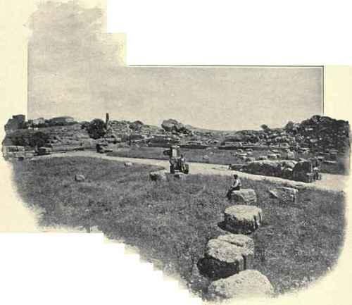 Temple Of Jupiter, Girgenti.